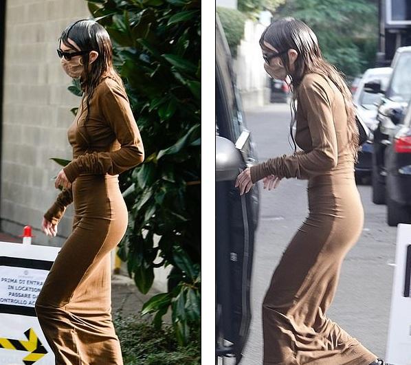 Kendall Jenner mặc đồ già nua và kỳ dị trên phố